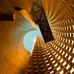 Postmodern architecture: Vulcania Centre Européen du Volcanisme by Hans Hollein