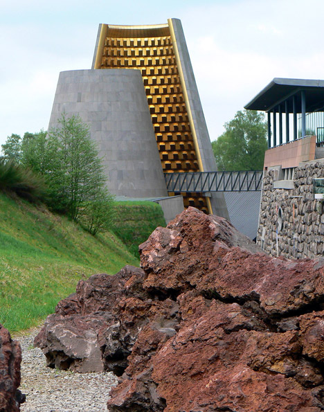 Vulcania Centre Européen du Volcanisme by Hans Hollein