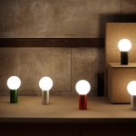 Joel Hoff designs rotating table lamp for Wrong for Hay