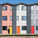Richard Rogers' prefabricated housing for homeless people opens in south London