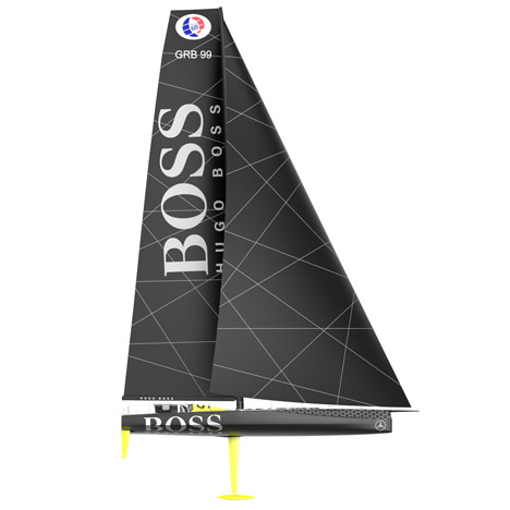Konstanin Grcic designs a racing yacht for Hugo Boss