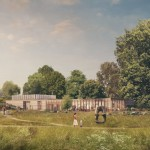 Feilden Fowles plans rammed-earth visitors' centre for Yorkshire Sculpture Park