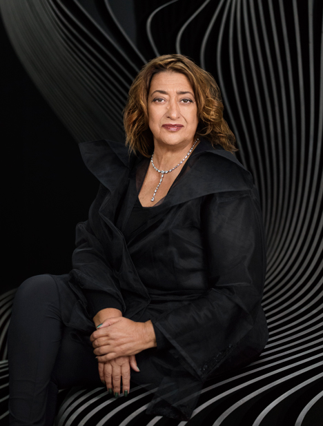 Portrait of Zaha Hadid by Mary McCartney