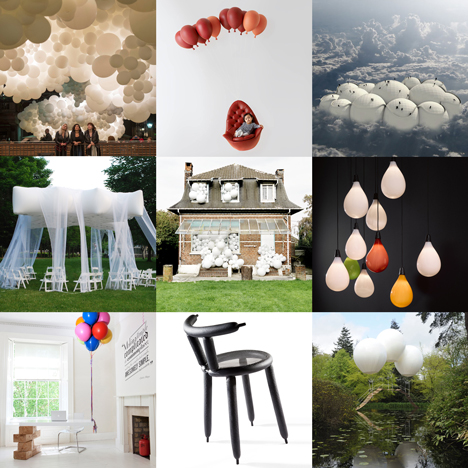 Explore images of balloon-related design on our new Pinterest board