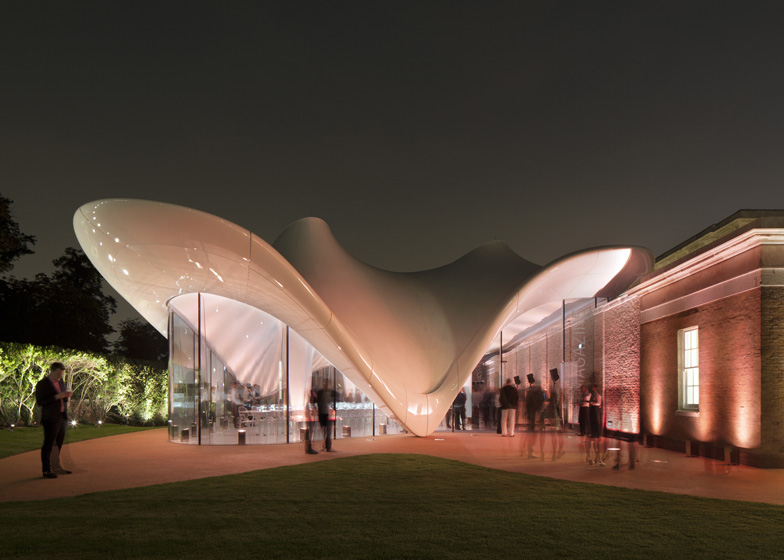 Serpentine Sackler Gallery, London. Photograph by Luke Hayes
