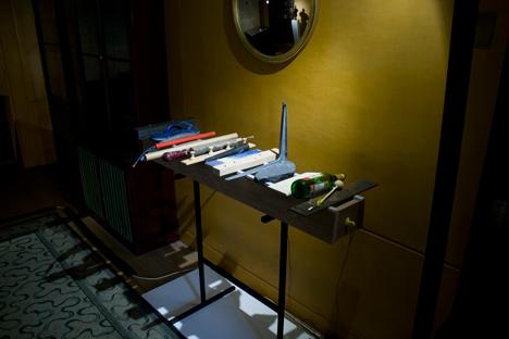 Peter Marigold Soane Museum pieces exhibition