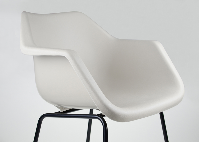 Robin Day's 1960s stackable Polyside chair relaunches