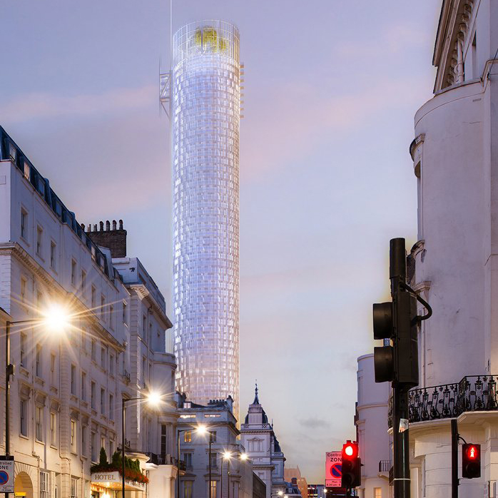 Renzo Piano's skyscraper design for London's Paddington
