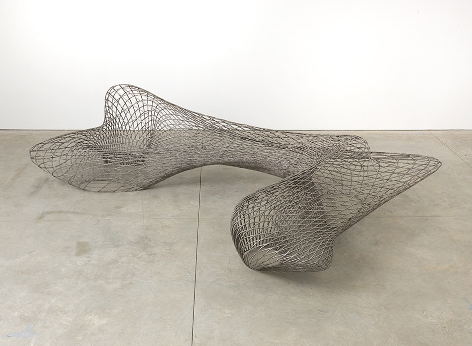 3D printed Dragon Benches by Joris Laarman