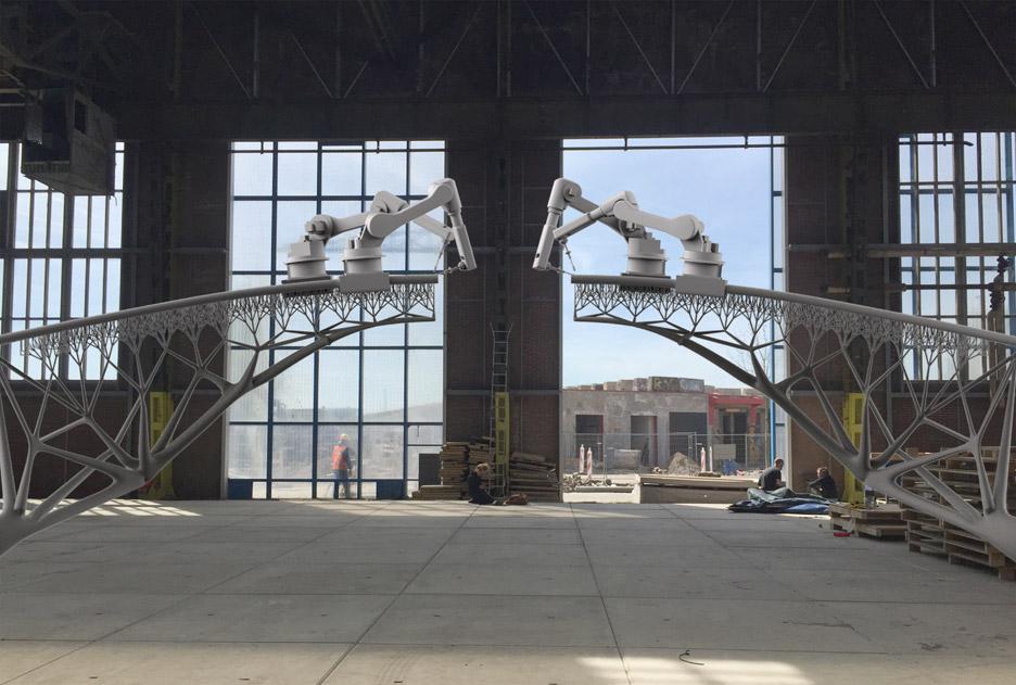 3D printed bridge by Joris Laarman
