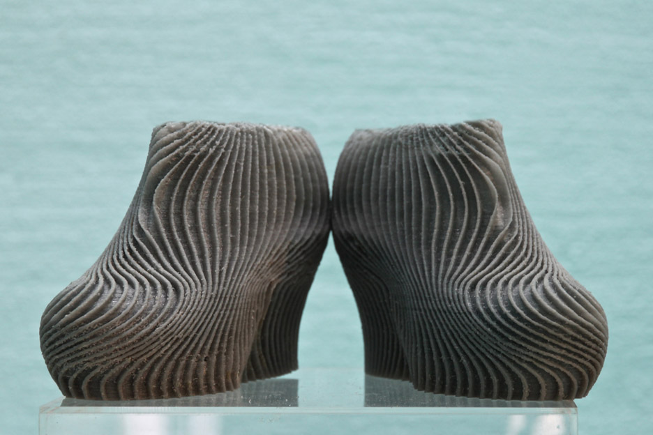 """Troy Nachtigall's 3D-printed high heels are """"more comfortable than normal shoes"""""""