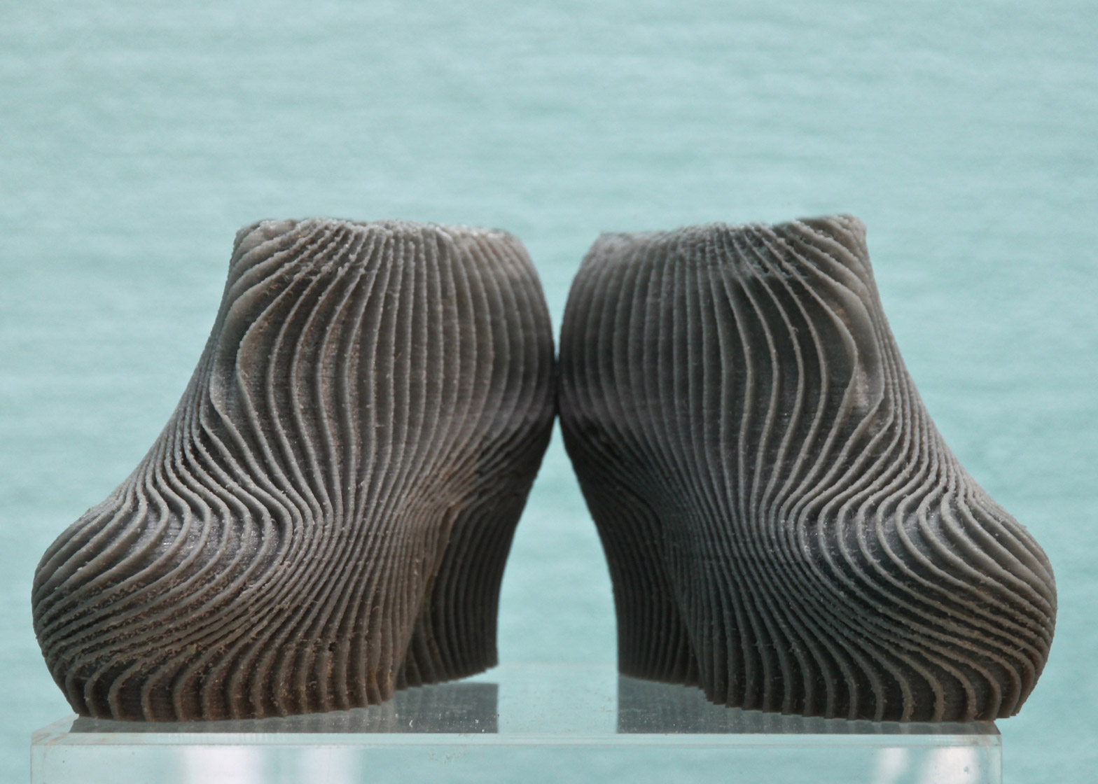 3D printed shoes by Troy Nachtigall