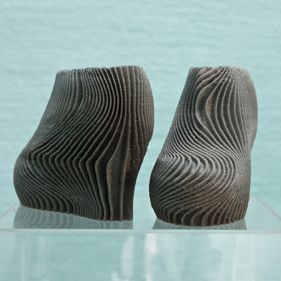 "Troy Nachtigall's 3D-printed high heels are ""more comfortable than normal shoes"""