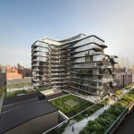 Zaha Hadid's first residential building in New York includes $50 million penthouse