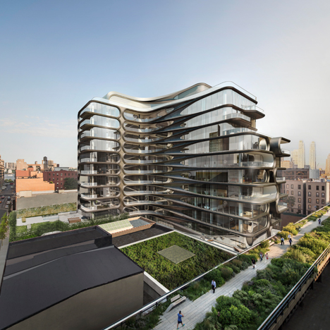Zaha Hadid's first residential building in New York includes \$50 million penthouse
