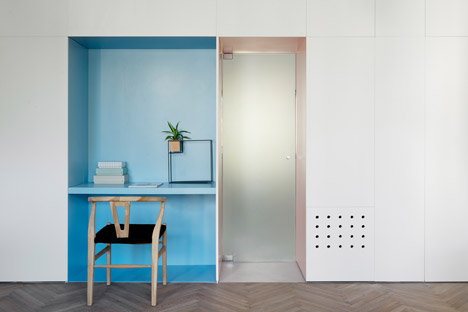 55 metre Tel Aviv apartment by Maayan Zusman and Amir Navon