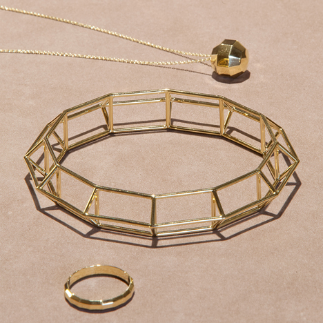 Klemens Schillinger visualises changing values of gold with Element 79 jewellery collection