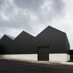 Warehouse in Portugal by João Mendes Ribeiro used to exhibit Andy Warhol artwork