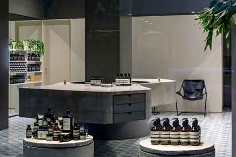 Aesop Store by Paulo Mendes da Rocha and Metro Associated Architects