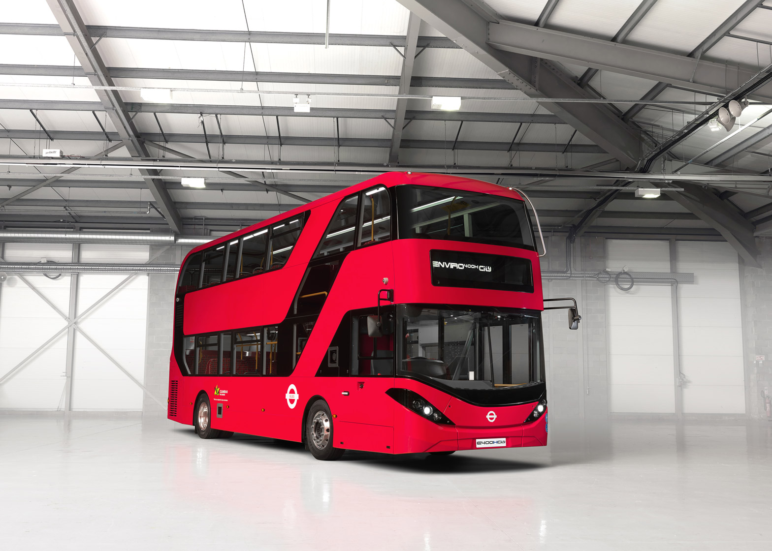 13 Of Enviro400h City Bus By Alexander Dennis Limited