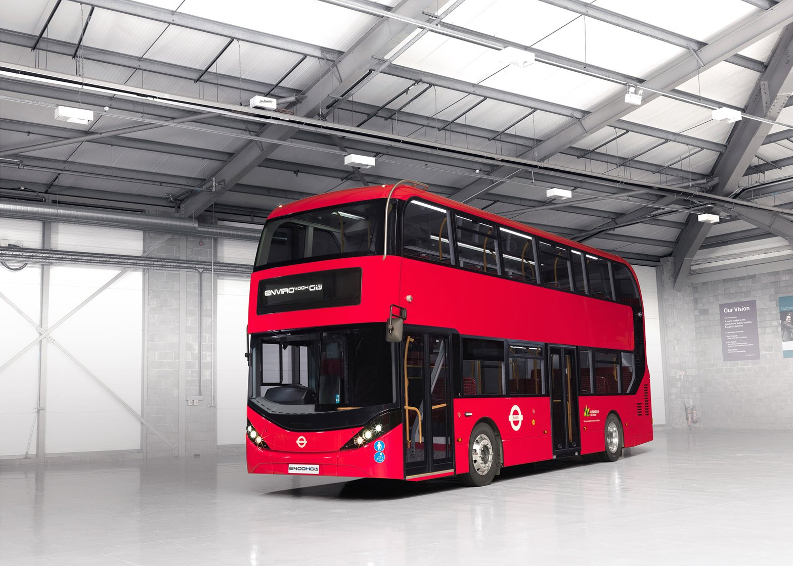 Enviro400H City Bus by Alexander Dennis Limited