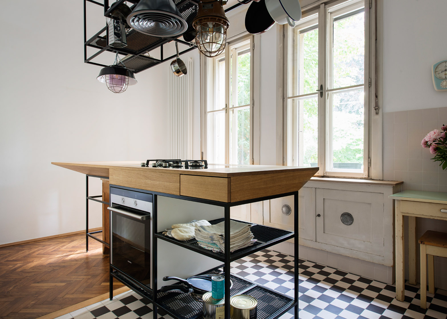 Parquet Flooring Kitchen Ifub Uncovers Parquet Flooring In 1930s Art Deco Apartment