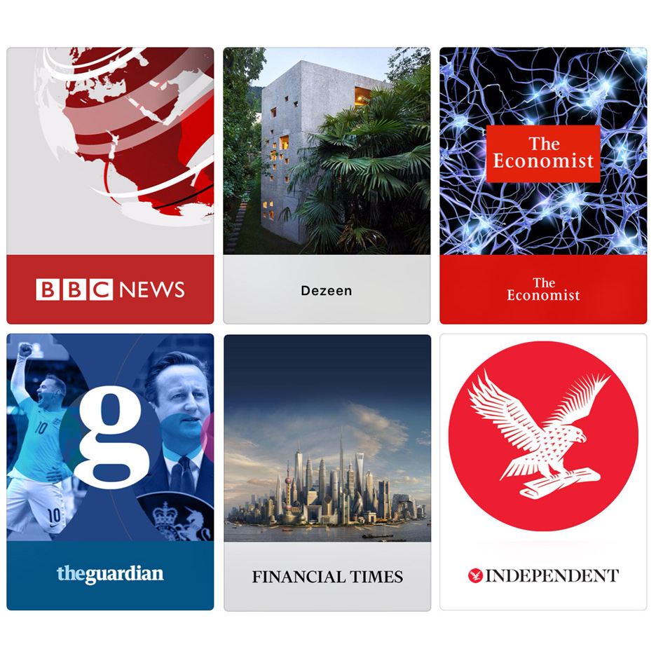 Dezeen now available in newly launched Apple News app