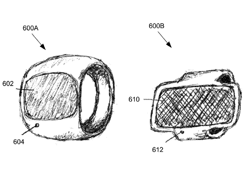 Apple ring patent drawings