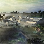 Aranda\Lasch presents art park designs for sensitive ecological site in Bali