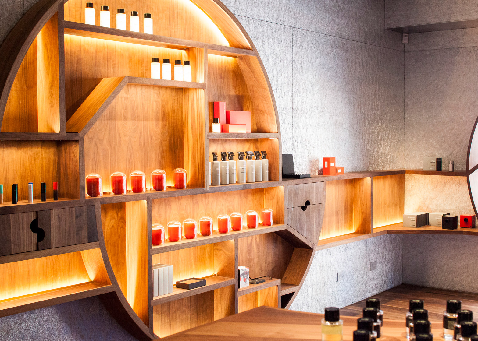Editions de Parfums Frederic Malle by Steven Holl Architects