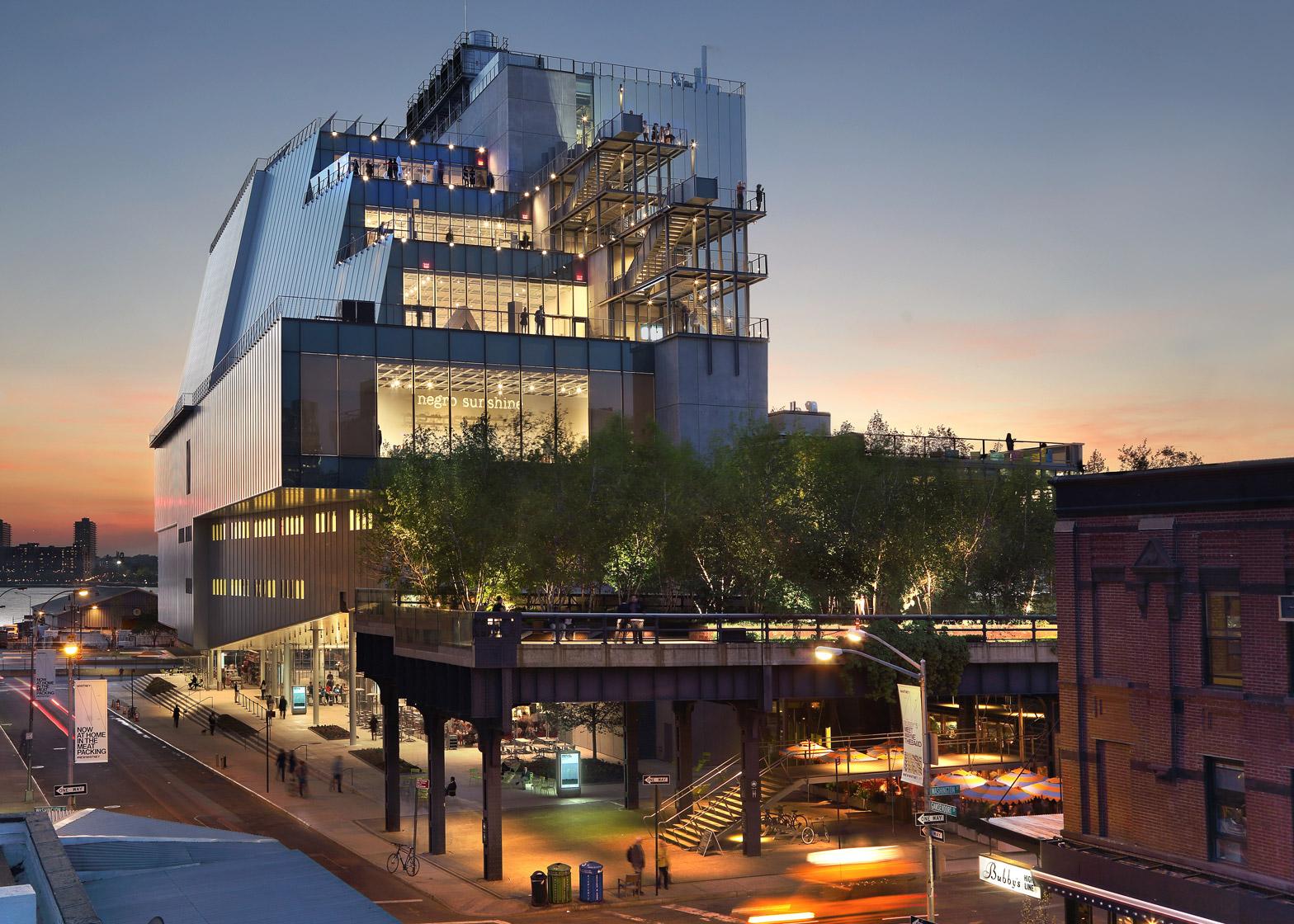Whitney Museum of American Art by Renzo Piano