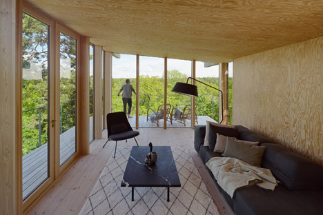 Aspvik House by Andreas Martin Lof Architects