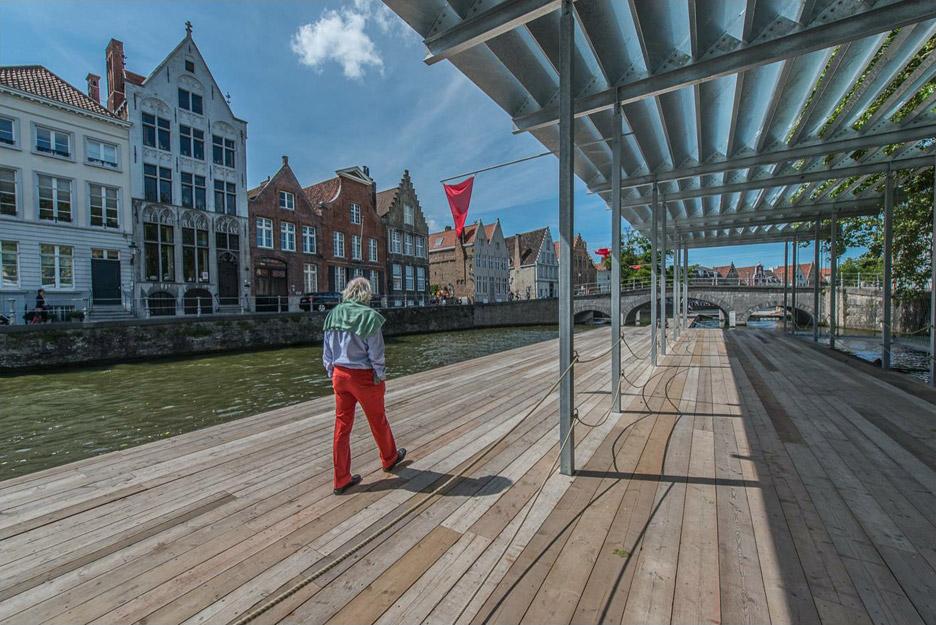 Canal Swimmer's Club by Atelier Bow-Wow + Architectuuratelier Dertien 12 for Belgian Triennial