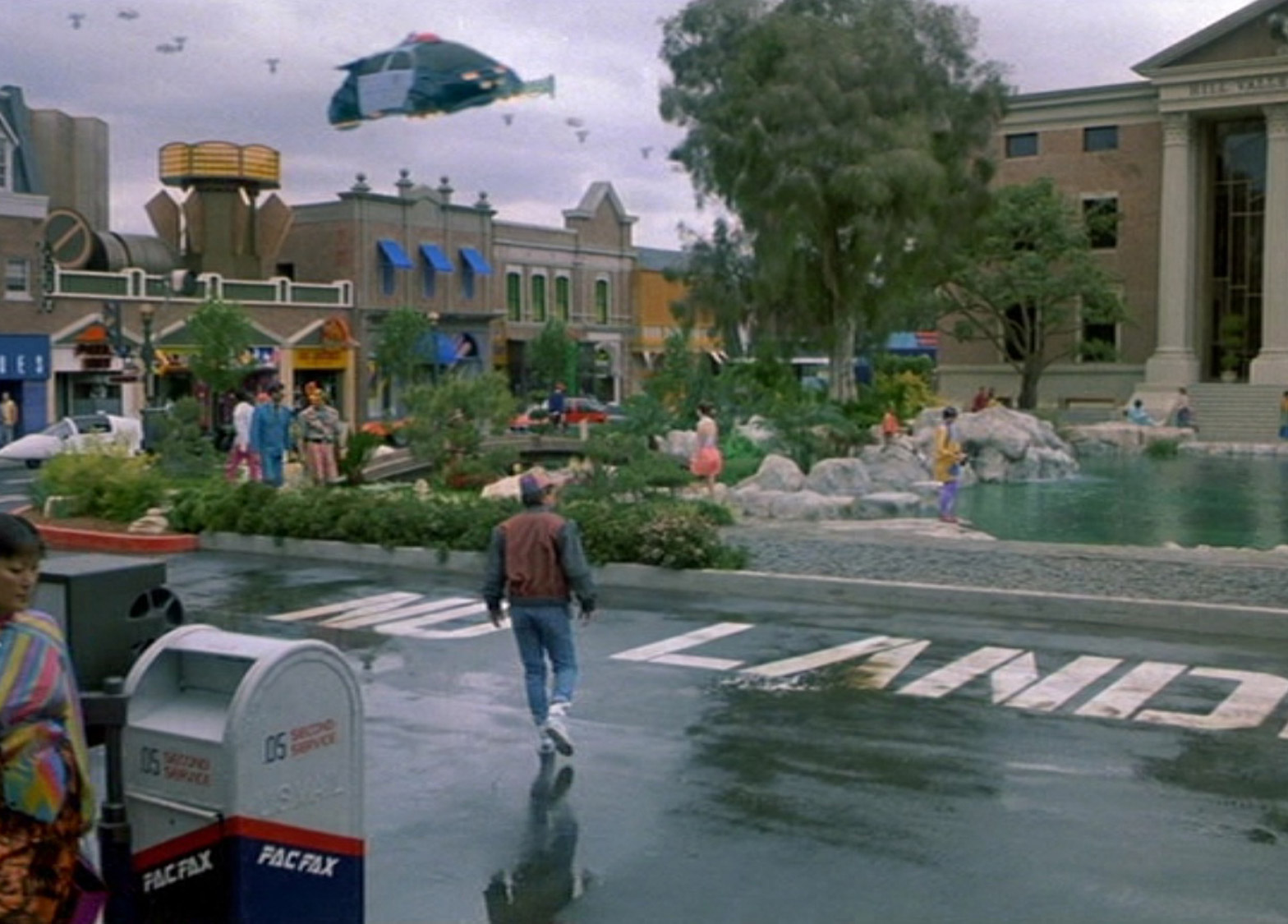 """Back to the Future """"brought the future closer"""" say designers"""