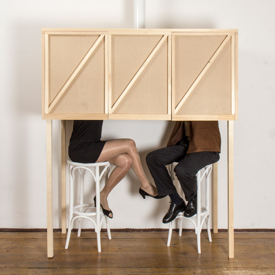 Breaded Escalope models two-person bar on iconic Adolf Loos speakeasy