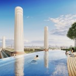 Foster-designed hotel at Battersea Power Station to feature rooftop infinity pool