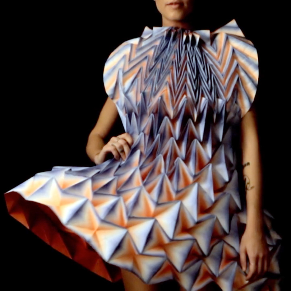 Folded dress by Jule Waibal