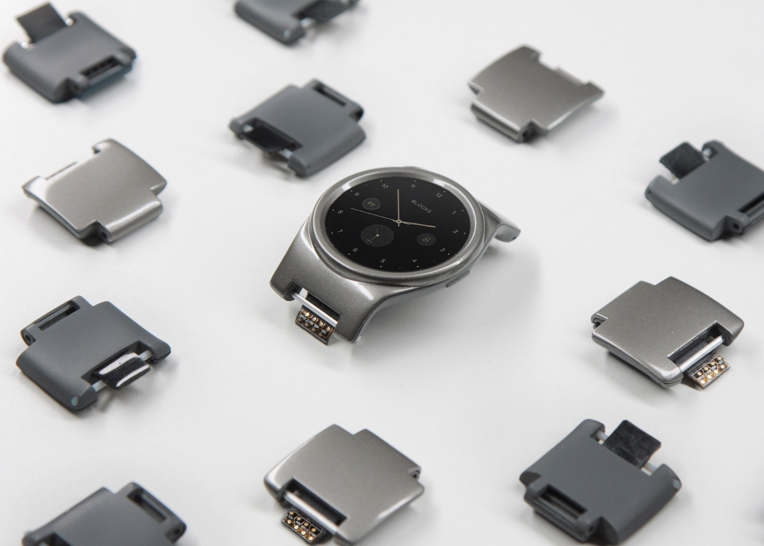 Modular smartwatch by Blocks