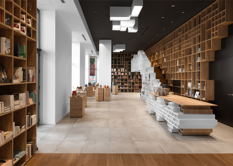 Book Centre Trieste by Sono Architects