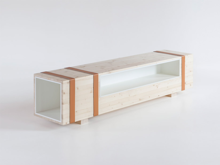 Calibro furniture chest by Daniele Cristiano for Formabilio