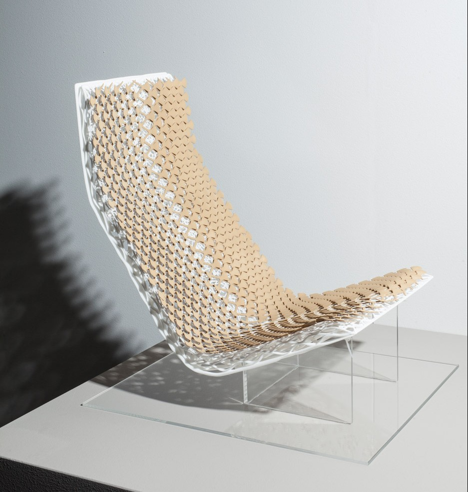 Car seat by Lilian van Daal for Dutch Design Week 2015