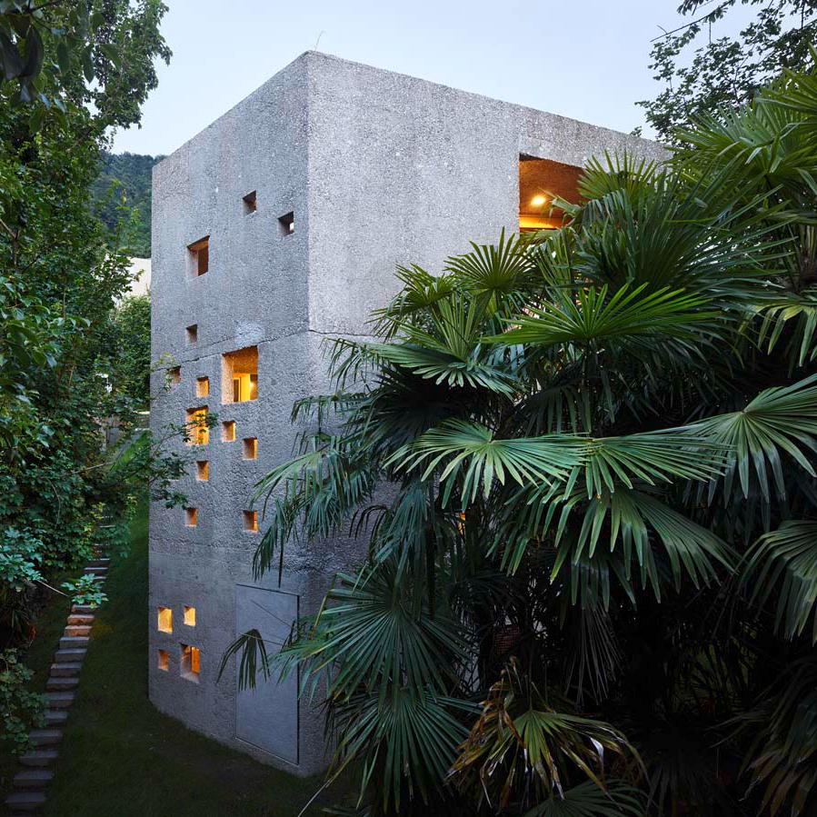 Casa Dem by Wespi de Meuron Romeo Architetti