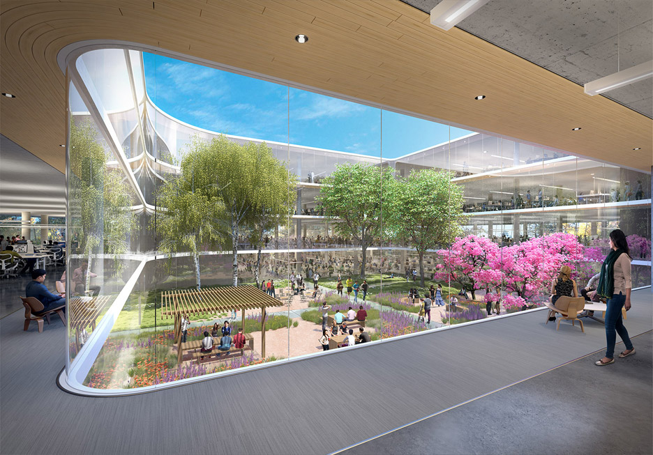 central wolfe by hok apple new office design