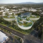 "Apple's latest Silicon Valley campus could be ""futuristic tech office"" by HOK"