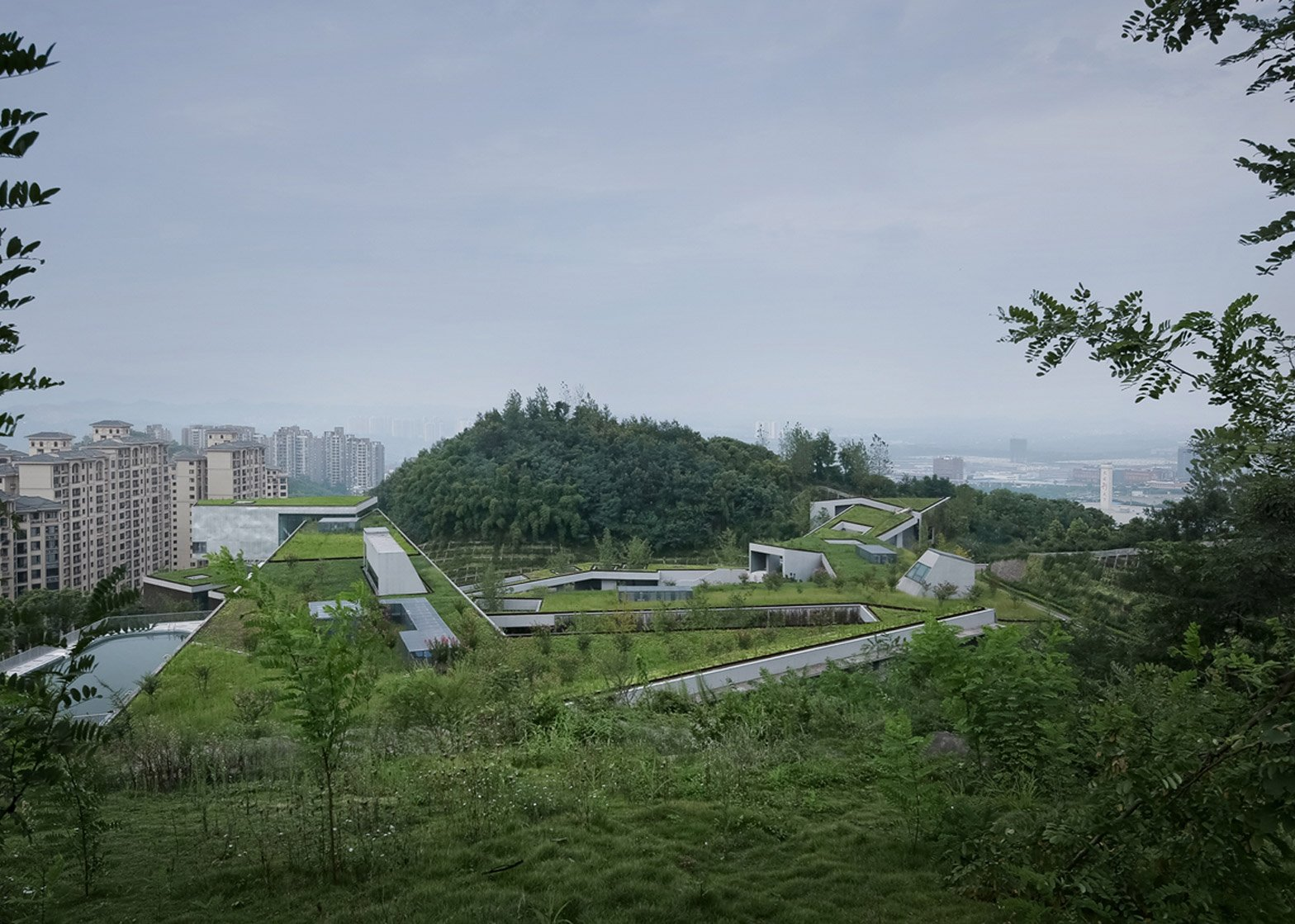 Chongqing Taoyuanju Community Center by Vector Architects