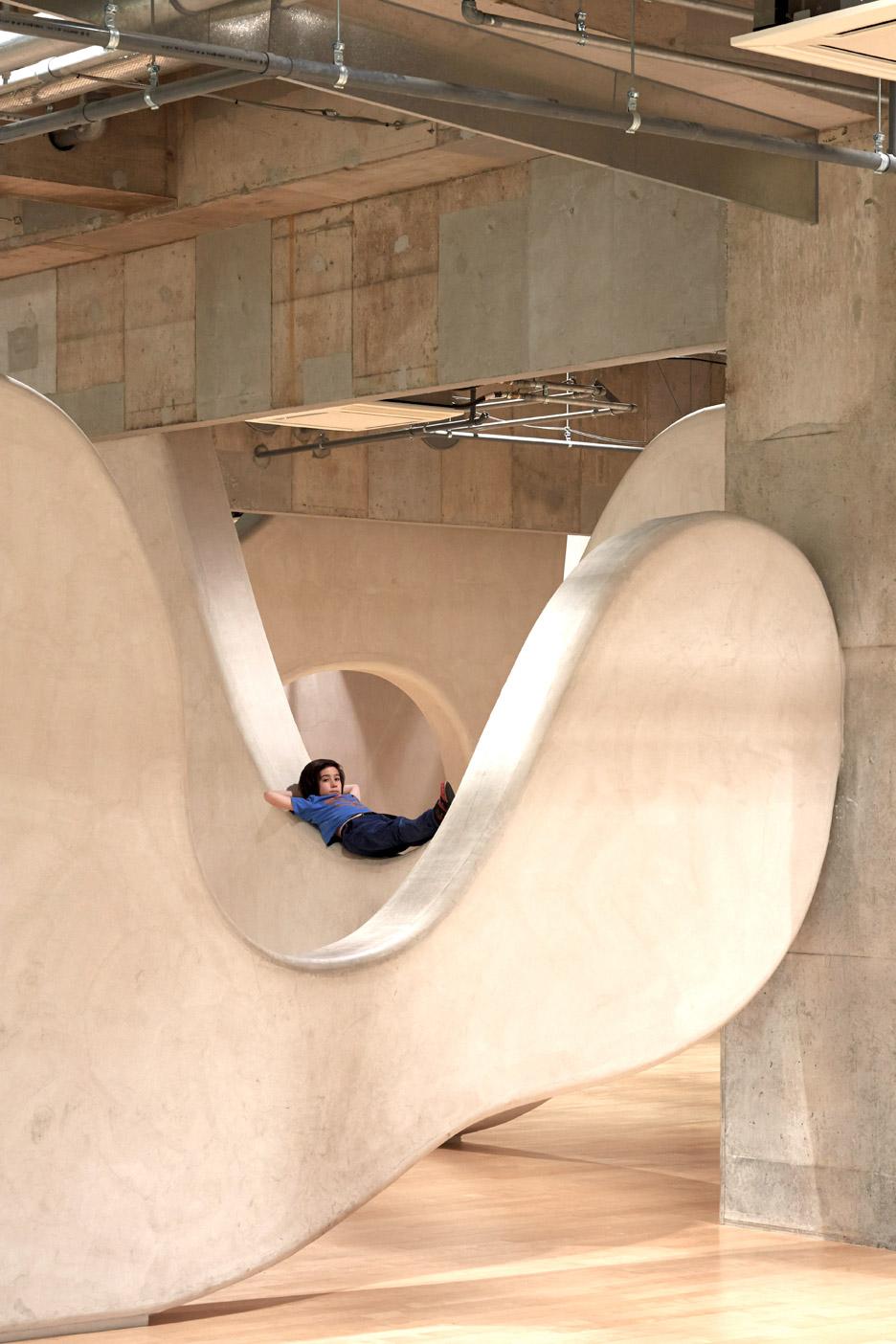 Junya Ishigami creates nursery with cloud-shaped walls inside a high-rise block