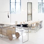 Chmara.Rosinke designs Futurist kitchen installation