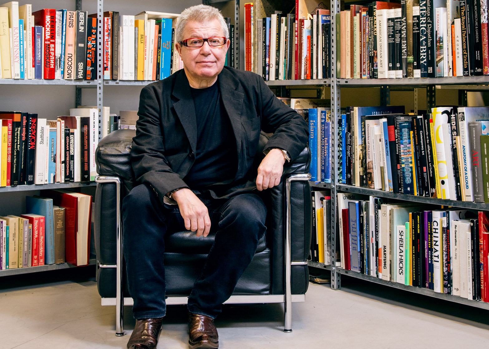 Daniel Libeskind talk at Roca London Gallery