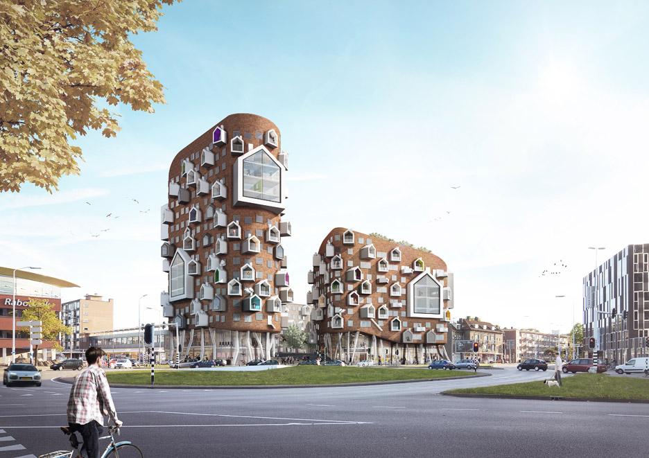 De Bakermat building by Maarten Baas