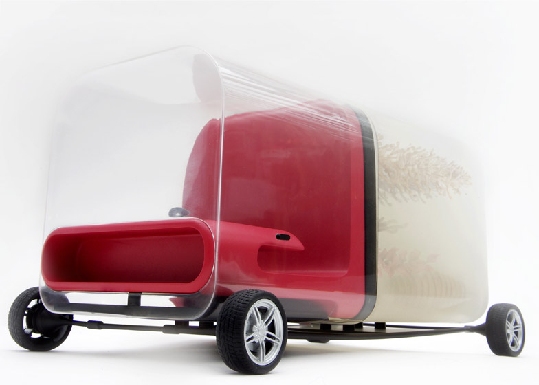 Digestive Car by Yi-Wen Tseng RCA for LDF